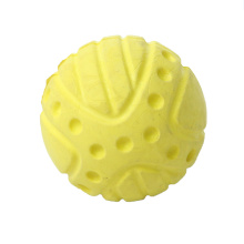 Chiot en mousse EVA grincant des dents Bouncy Toy Ball