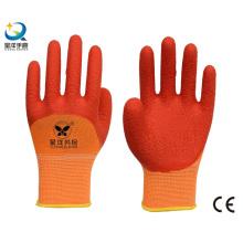 13G Полиэфирные латексные латексные перчатки 3/4 с покрытием