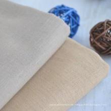 55% Leinen 45% Baumwollkleid Shirt Textilgewebe