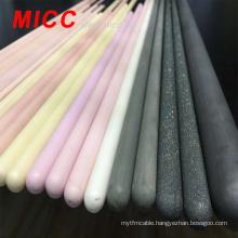 MICC high temperature 99.5% Al2O3 purity thermocouple protection tube