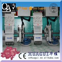 HUAGUI zwei kopf computer ultraschall strass einstellung maschine stickerei maschine
