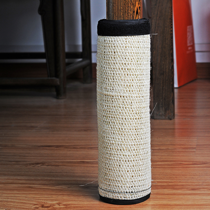 Natural Sisal Hemp Cat Scratching Post Protecting Furniture Grinding Claws Cat Scratcher Toy Multifunctional Furniture Protector 3