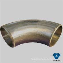 Encaixes de tubulação de aço inoxidável de Bw Smls (cotovelo)