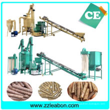 CE Automatic Biomass Sawdust Wood Pellet Production Line