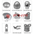 Galvanized PVC Coated Chain Link Fence Fittings Accessories