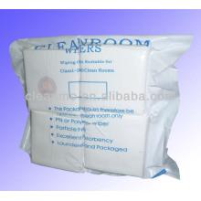 """Essuie-glace de polyester de salle blanche de 4 """"x 4"""" (vente chaude)"""