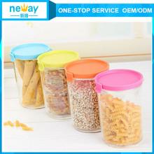 Neway Colorful Plastic Jar