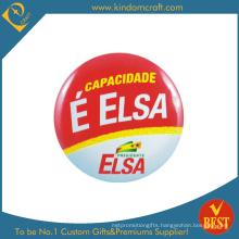 Capacidade Jurdica Publicity Souvenir Tin Button Badge From China
