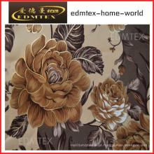 Tecido de cortina com estilo impresso preço barato EDM0547