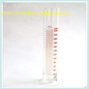 Vidraria de Laboratório para Medição de Rolhas de Cilindro por Vidro de Borosilicato