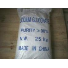 Polvo de Gluconato de Sodio Grado Industrial / Grado de Alimentación