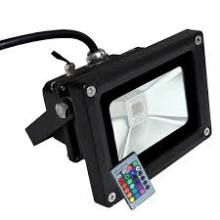 10W Jardín Spot IP65 12V Proyector LED RGB Color Flood Light
