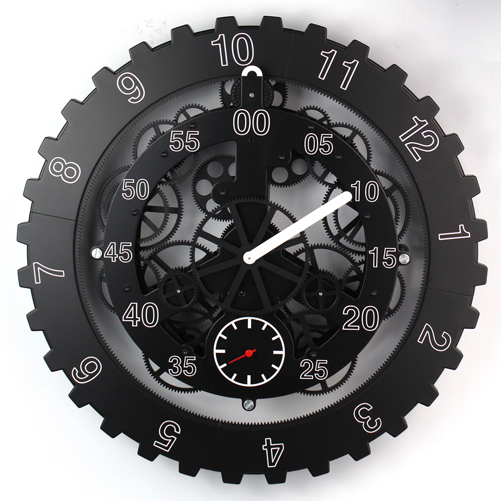 Maples Moving Gear Clock