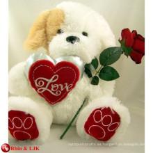 EN71 y ASTM estándar del día de San Valentín oso de peluche