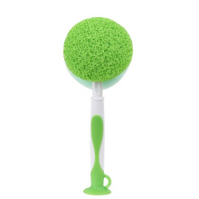 Popular hot selling brush brand new design with suction cup cleaning brush