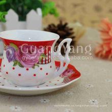 Increíble paquete de seguridad de exportación estándar de calidad Porcelain Red Party Cups