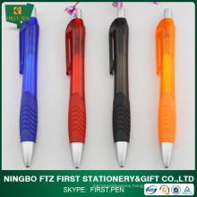 Wholesale Price Plastic Pen With Rubber Grip
