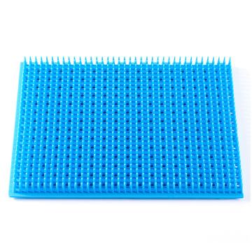Almohadilla de silicona médica azul 480 * 700MM