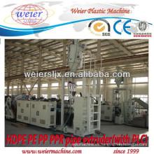 RECIENTEMENTE de la máquina de tubos PP PE HDPE PPR