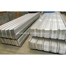 Fabricación Gi Lámina de acero galvanizado para techar
