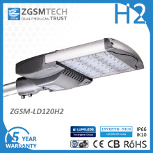 Luminaria de calle LED con diseño de módulo de 120W UL Dlc