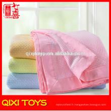 Couverture de bébé de couverture de bébé de couverture de bébé de couverture de coton d'usine de couverture