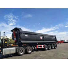 Rear Tipping Tipper Semi Truck Dump Trailer