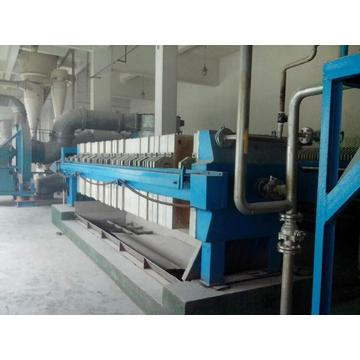 frame filterpers machine
