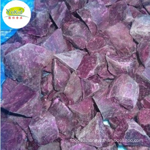 Bulk wholesale distribute supplier IQF Frozen purple sweet potato