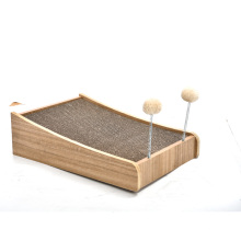 Spring Toy Ball Design Wooden Eco  Friendly Pet Toy Interactive