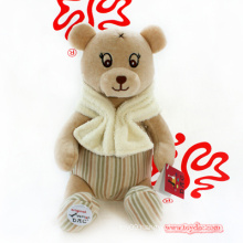 Stuffed Organic Cotton Bear Toy