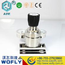 Regulador de baixa pressão de duplo estágio de alta pureza