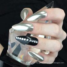 Silver Chrome Pure Powder Mirror Effect Nail Powder Manicure Pigments