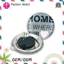 Round DIY personnalisé Clignotant LED Button Pin Badge