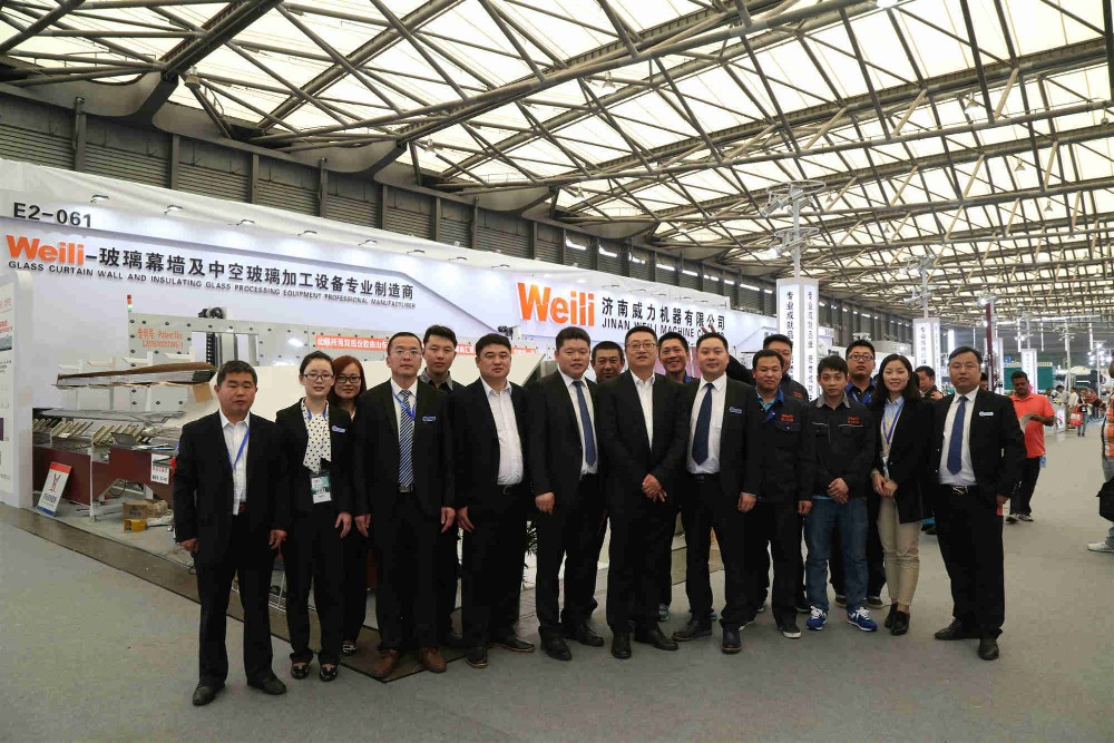 our sales team of insulating glass machine manufacturer
