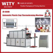 Máquina de termoformado plástico de la taza del plástico de los materiales del PP