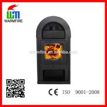 Freestanding designer fonte de madeira lareira fábrica WM206-1200