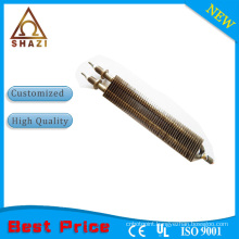 Plastic injection molding machine and PIMM cartridge heating element