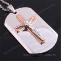 Cheap Custom Stainless Steel Modern Crucifix Jewelry (IO-st229)