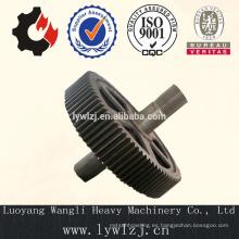 Aleación de acero forjado Spline Gear Shaft