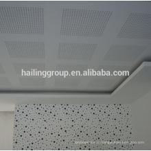 Перфорированные подвесные ГКЛ , гипсокартон , гипсокартон потолок для продажи