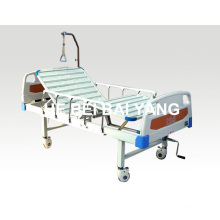 a-110 Double-Function Manual Hospital Bed