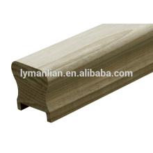 Barandilla de madera Linyi Baiyi / balaustre de madera / moldura de madera de reconocimiento