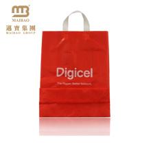 Reusable fancy design hard loop handle carrier bags Guangzhou Maibao