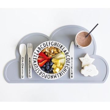 Customized Dining Cloud Silikonmatte Kinder Tischset
