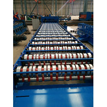 Galvanized roof tile roll forming machine