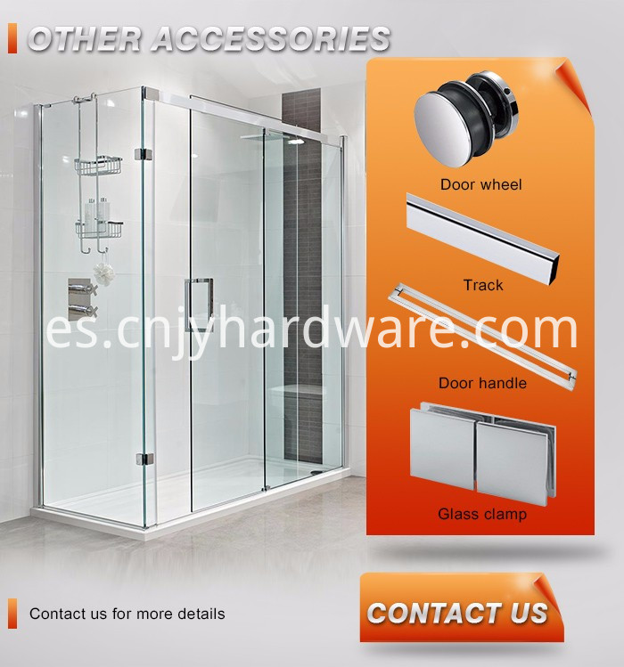 Stainless Steel Push Pull Glass Door Handle