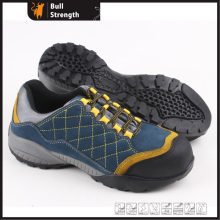 Industrial Geniune Leather Safety Shoes with Rubber Sole (SN5319)