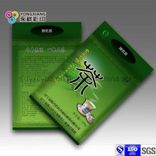 Green Tea Plastic Packaging Bag with Zip-Lock