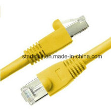 10g CAT6A Snagless Patch Cable with 50u RJ45 Yellow